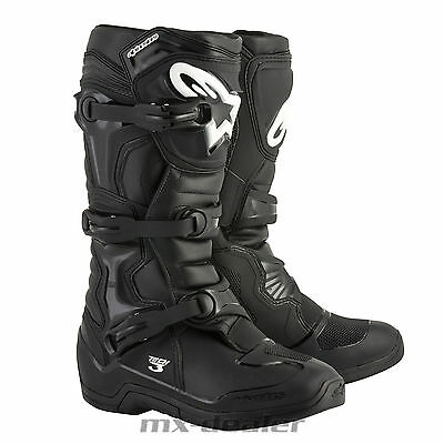 19 Alpinestars NEW Tech3 Tech 3 Stiefel schwarz mx motocross Enduro cross boots