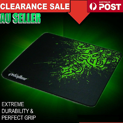 Laptop Computer PC Gaming Pad Mat Desktop Optical Mousepad  Laser Mouse