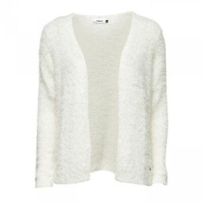 Cardigan Perfect L/S Knit Noos Cloud Dancer - Only