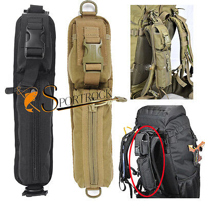 Ourdoor Airsoft Tactical Molle Waist Belt Backpack Accessory Bag Pouch Strap