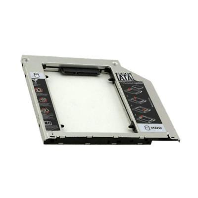 SATA HDD Caddy 9.5mm Hard Drive Enclosure SSD Case for Macbook Optical Bay