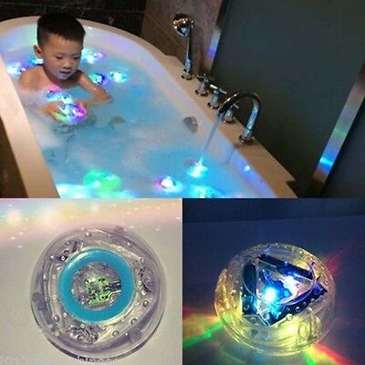 Boy Kids Bath Light Time Fun LED Light Up Toys Party In The Tub Waterproof Newly