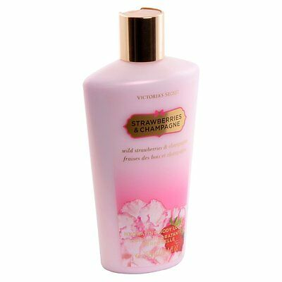 Victorias Secret Strawberries and Champagne Body Lotion for Her 250ml