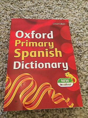 Oxford Primary Spanish Dictionary New