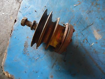 1951 Farmall Super A tractor fan pulley