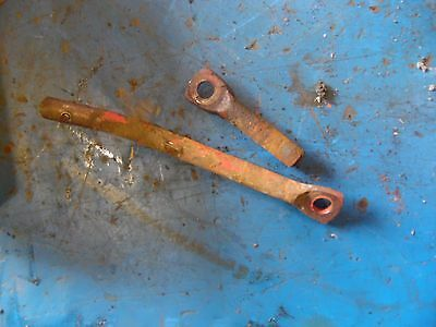 1951 Farmall Super A tractor light brackets