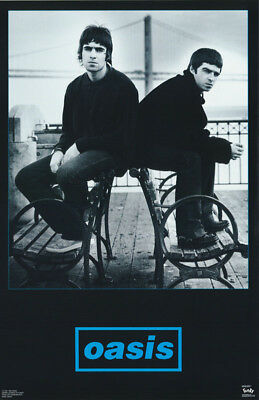 Lot Of 2 Posters : Music :  Oasis  - Black & Blue -  Free Ship  #6505   Rp77 K
