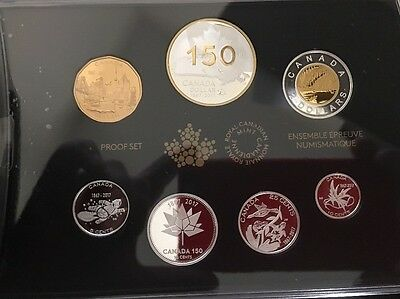 2017 Special Addition Canada 150 Silver Proof Set: Our Home And Native Land