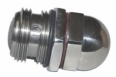 Triumph Oil Pressure Relief Valve 71-3447S Stainless