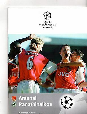 1998-1999 Arsenal v Panathinaikos
