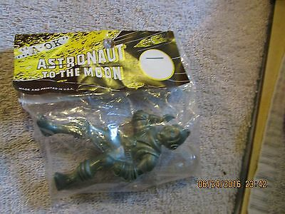 Vintage Space Toy Figures A-Ok Astronaut To The Moon 60's Original Package Gray
