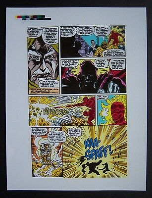 Original Production Art FANTASTIC FOUR #336, page 19, RON LIM art