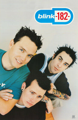 Lot Of 2 Posters : Music : Blink - 182 - All 3 Posed - Free Ship  #6531   Lp38 J