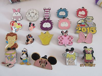 Disney Pin Tradable Lot of 20 - all pins are tradable in the parks set 2