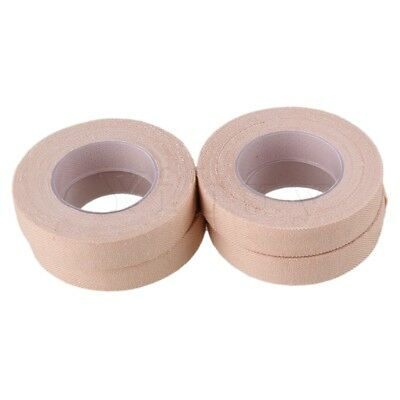 Yibuy 500cm/ Roll Cotton Adhesive Tape for Guzheng Set of 4 Complexion