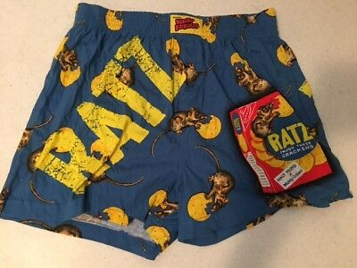 Wacky Package 2006 Ratz Crackers Boxers NWT Large (36-38)