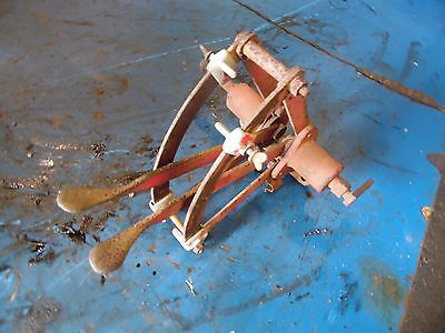 1951 Farmall Super A tractor hydraulic lever assembly