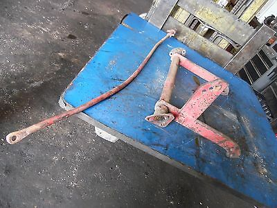 1951 Farmall Super A tractor rear rock shaft assembly