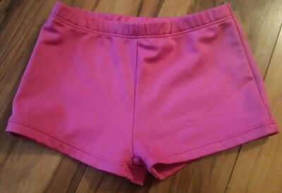 Little girls Freestyle pink dance shorts size 4/5