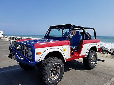 1973 Ford Bronco  1973 Ford Bronco Roadster