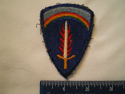Us Army Supreme Headquarters Allied Expeditionary Force  Patch
