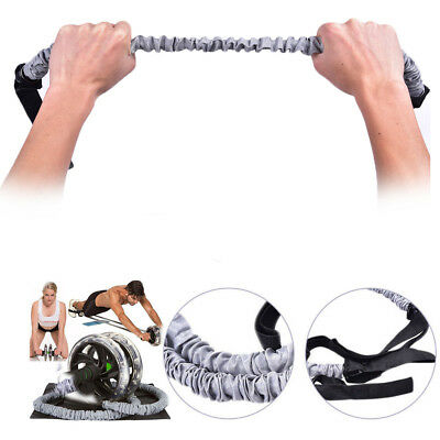 X1 Double Wheels Ab Roller Pull Rope Waist For Abdominal Slimming Equipment Aids