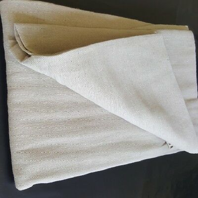 12ft x 12ft SUPER SIZE PREMIUM QUALITY HEAVY DUTY COTTON TWILL DUST SHEET
