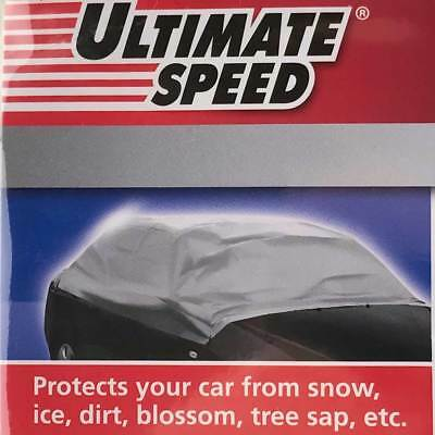 Waterproof Car Half Body Cover Protection UV Snow Ice Frost Dirt Windscreen ...