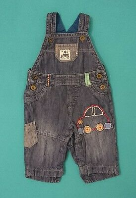 Adorable boys denim dungarees from NEXT aged up to 3 months
