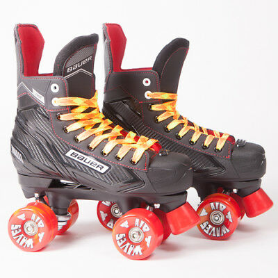 Bauer Quad Roller Skates - Vapor X300 S17 - 2017 Model -  Orange Airwaves