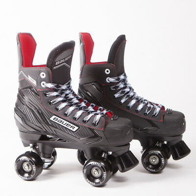 Bauer Quad Roller Skates - NS - 2018 Model -  Black Ventros