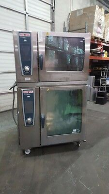 Rational Combi Ovens Self Cooking Center Commercial Ovens 2 Stack