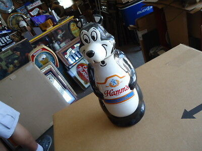 Rare Antique Hamms Beer Bear Bar Sign Decanter Great For Man Cave