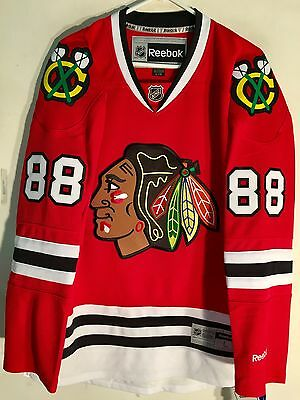 NHL Chicago Blackhawks Patrick Kane Premier Ice Hockey Shirt Jersey