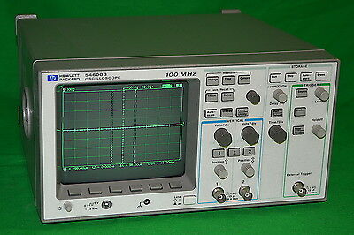 HP 54600B 2-channel 100 MHz Oscilloscope *Used, Working*