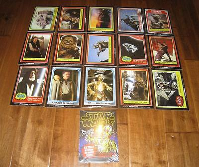 2015 Star Wars Celebration Excl TOPPS COMPLETE 5x7 Card Collection + Wax Wrapper