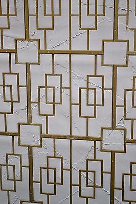 VTG Mid-Century Aluminum Grid Panel Divider Screens,ONE OF KIND 70 panels total