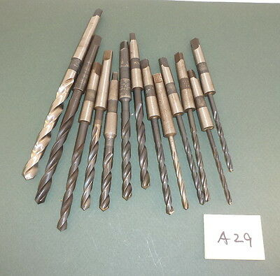 MT1 Taper Shank Drill Bit lot    a29