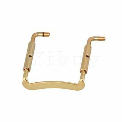 Yibuy Violin Chinrest Clamp Screw Parts Gold