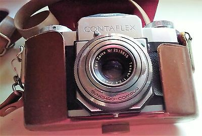 VINTAGE - ZEISS IKON CONTAFLEX 35mm CAMERA - GERMANY
