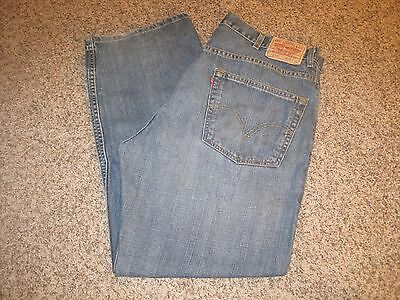 Levi's 559 Men's Work Jeans, Sz 38x30, Relaxed Fit, Straight Leg 6092