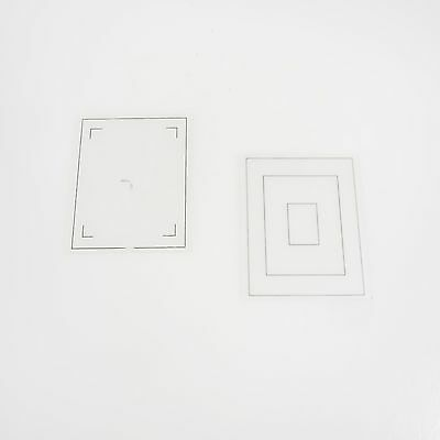 >Lot of 2, 4x5 Ground Glass for Large Format Camera #2