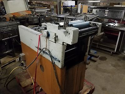 Multigraphics 1250- N Offset Printing Press with extras