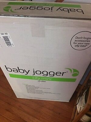 Baby Jogger City Mini Stroller Black/Gray