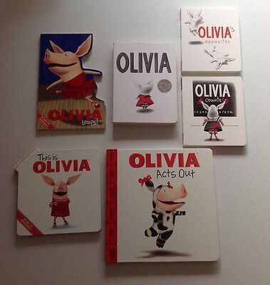 Bulk Olivia Hardcover (Board) Toddler Books