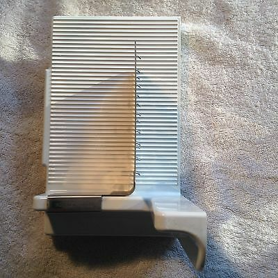 """Braun Electric Meat Slicer Parts. Carriage And Meat """"grabber"""""""
