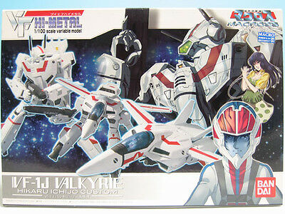 [FROM JAPAN]VF HI-METAL The Super Dimension Fortress Macross VF-1J Valkyrie ...