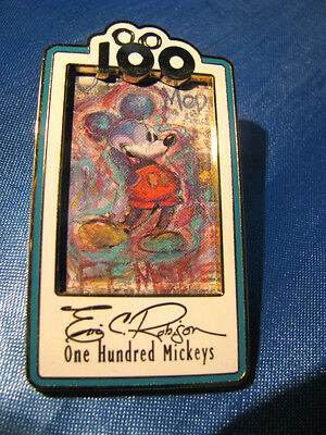 DISNEY 100 ONE HUNDRED MICKEYS PIN #55 Eric Robison