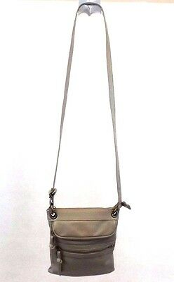 Old Navy Women's Crossbody Shoulder Bag Handbag Purse Taupe Faux Leather Small