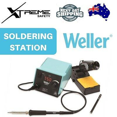 Weller 50W Digital Temperature Controlled Soldering Iron Station Welding Kit